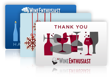 Wine Enthusiast Gift Cards from CashStar